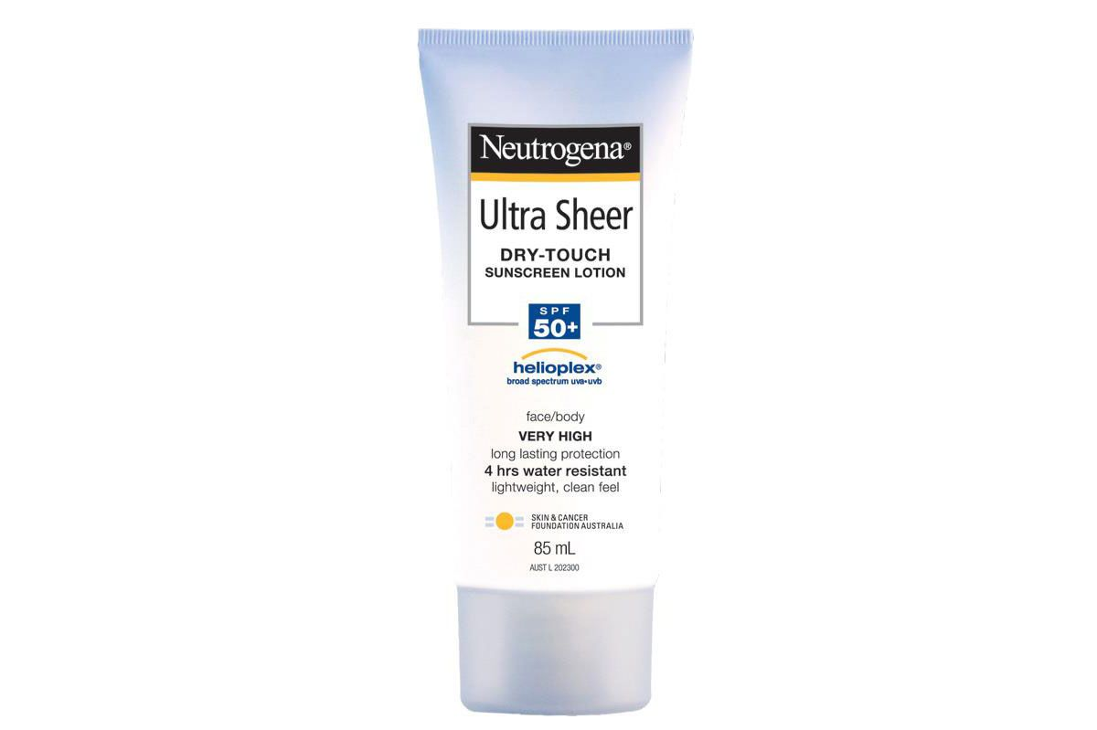Neutrogena Ultra Sheer Dry-Touch Sunblock SPF 70