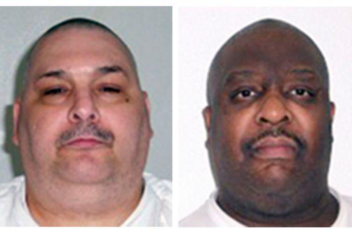 Arkansas denies man gulped for air during 1 of 2 executions