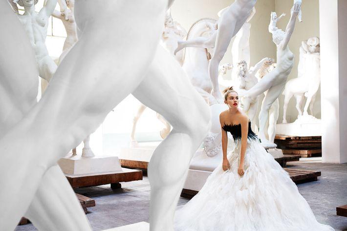 Sienna Miller, shot by Mario Testino for Vogue in 2007.