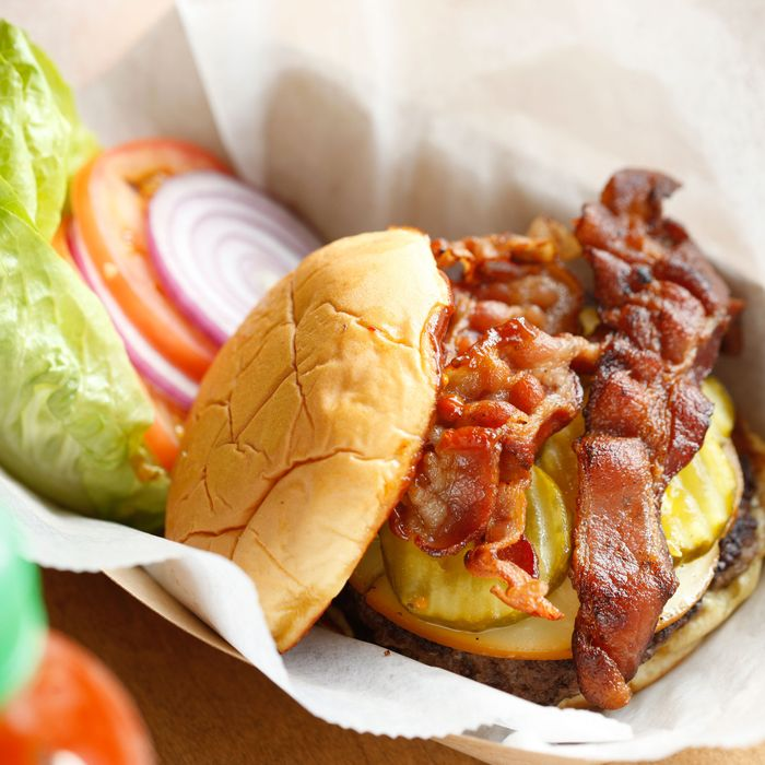 The Spicy Smokehouse Burger.