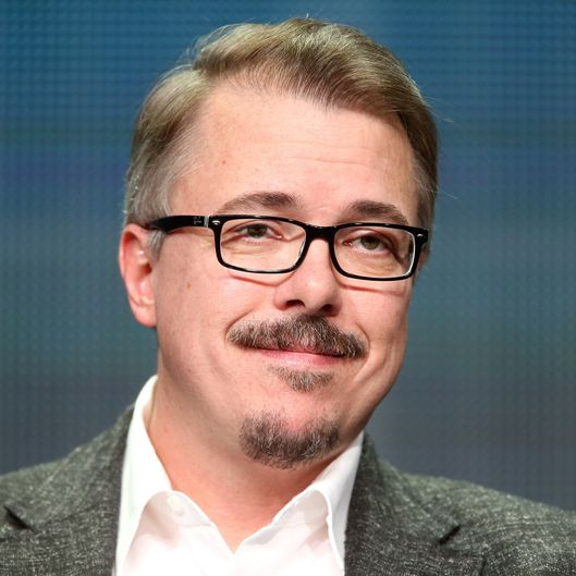 "speaks onstage at the ""Better Call Saul"" panel during the AMC Networks portion of the 2014 Summer Television Critics Association at The Beverly Hilton Hotel on July 11, 2014 in Beverly Hills, California."