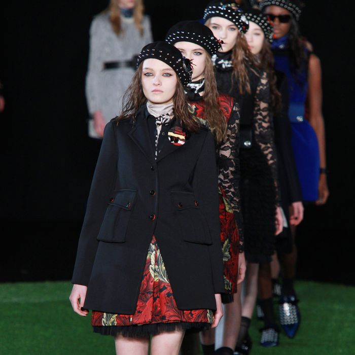 Marc by Marc Jacobs fall 2015.