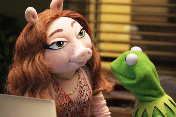 Denise and Kermit.