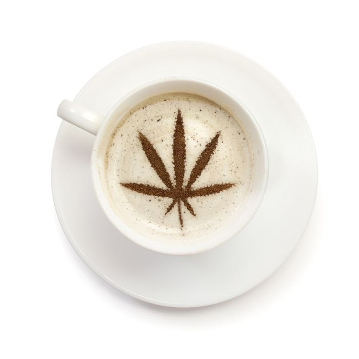 This is what happens when Bulletproof coffee and stoner cultures collide.