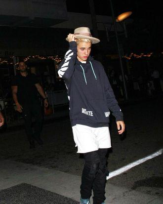 Perplexed Bieber