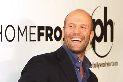 "LAS VEGAS, NV - NOVEMBER 20: Actor Jason Statham arrives at the Las Vegas premiere of Open Road Films'""Homefront"" at Planet Hollywood Resort & Casino on November 20, 2013 in Las Vegas, Nevada. The movie opens nationwide in the United States on November 27.  (Photo by Sam Morris/Getty Images)"