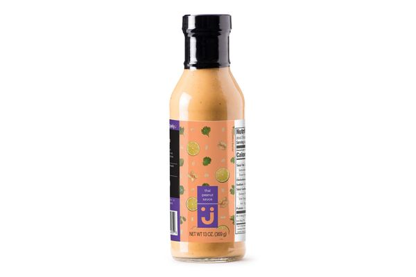 Uniquely J Thai Peanut Sauce, 13 Ounces