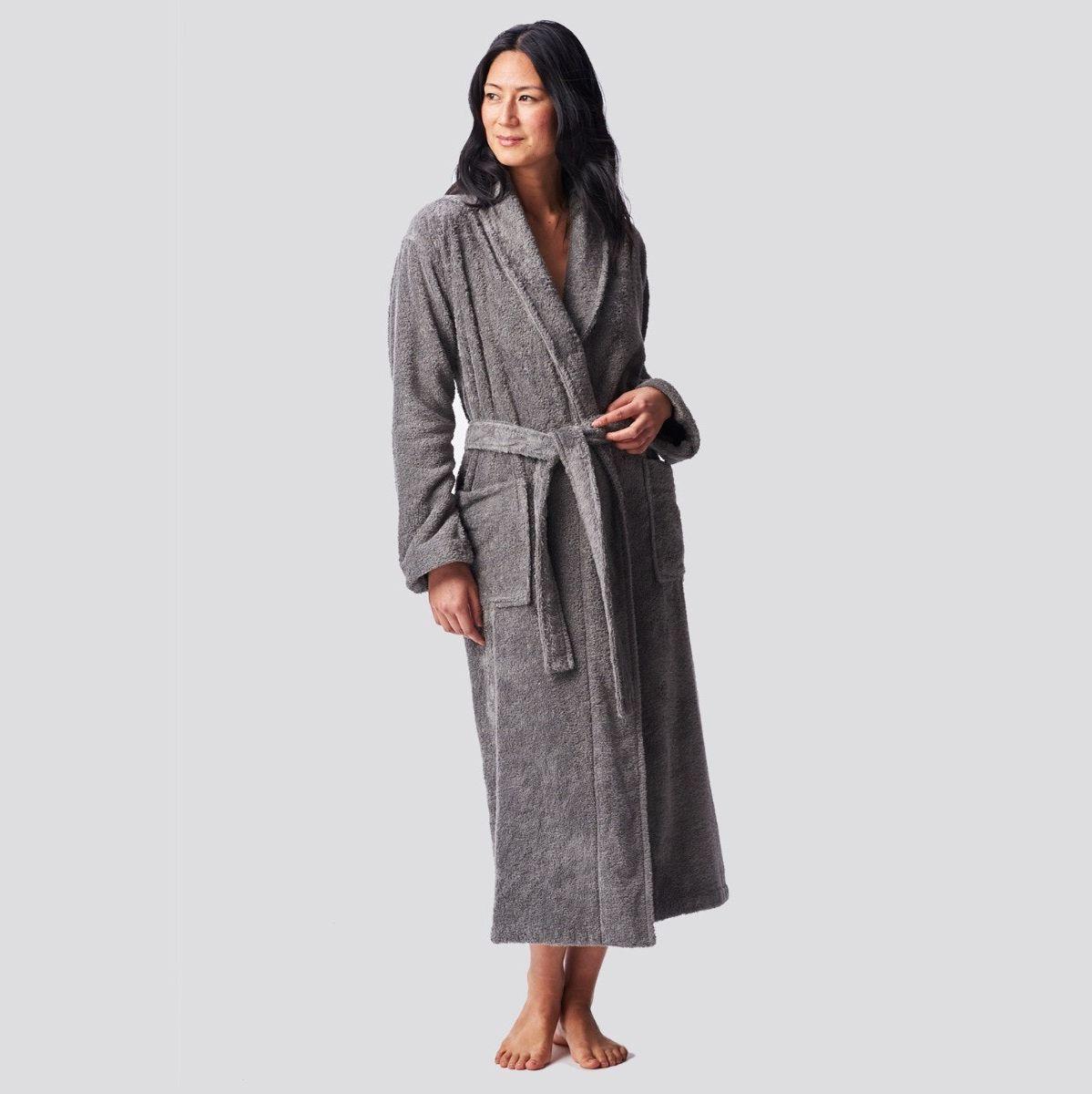 Mens 100/% Cotton Bath Towel Dressing Gown Lightweight Towelling Holiday Spa Gym Towel Bath Robe Soft and Cozy Men Knee-Length Hooded Bathrobe