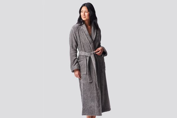 womens luxury dressing gown robe falls zip 10 12 present