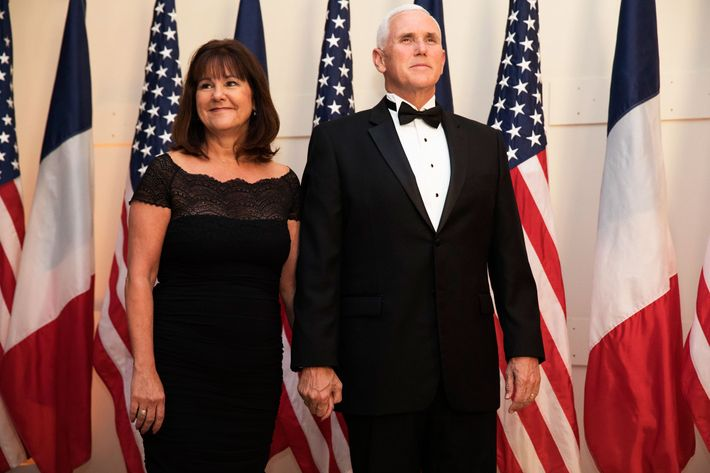 Vice-President Mike Pence and Second Lady Karen Pence.
