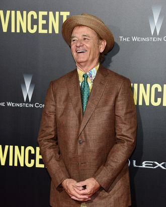 NEW YORK, NY - OCTOBER 06: Actor Bill Murray attends the