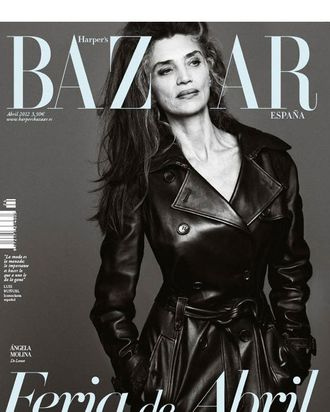 Angela Molina for <em>Harper's Bazaar</em> Spain.