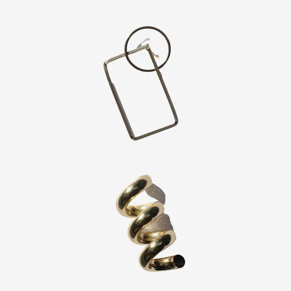 Serendipitous Project Composition Earrings