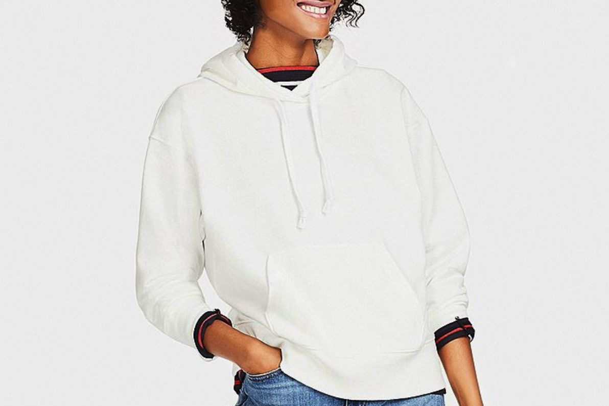 Women Long-Sleeve Hooded Sweatshirt