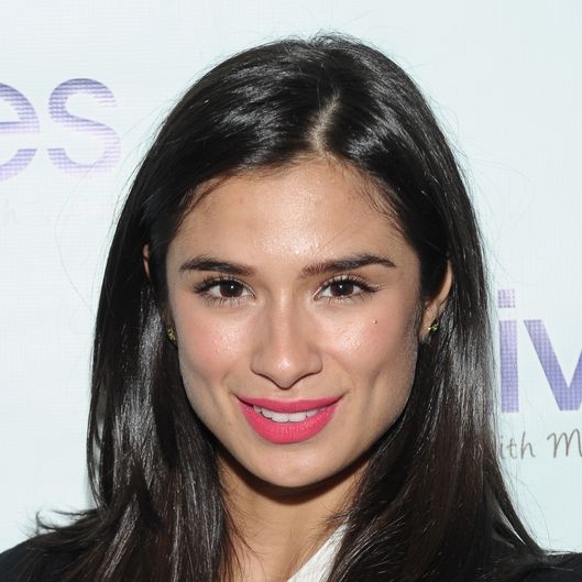 "NEW YORK, NY - SEPTEMBER 17:  Diane Guerrero attends the ""LIVES with Meredith Vieira"" Launch Party at Gramercy Park Hotel on September 17, 2013 in New York City.  (Photo by Rommel Demano/Getty Images)"