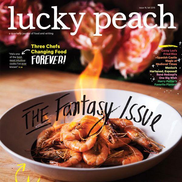 I Lucky Peach I S Latest Cover Is A Spot On Food Magazine Parody