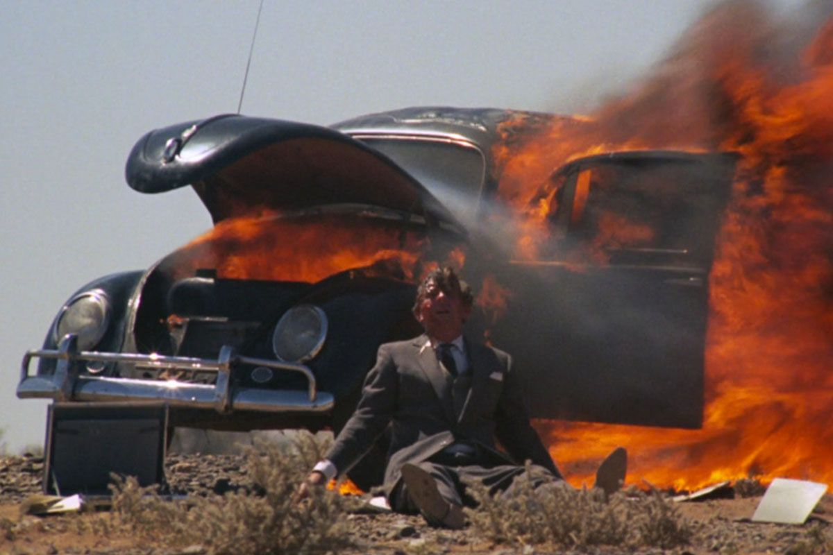 "<em><span class=""clay-designed kiln-phrase"">Walkabout</span></em><span class=""clay-designed kiln-phrase"">, directed by Nicolas Roeg. </span>The scene in <em>The Leftovers </em>in which a man sets himself and his car on fire is a very close homage to a scene in Roeg's 1971 movie, in which a man does exactly the same thing, right down to the black Volkswagen Beetle (in his case, after trying to kill his children). Lindelof even wanted to use the same Rod Stewart background song (""Gasoline Alley""), but it's become too expensive."