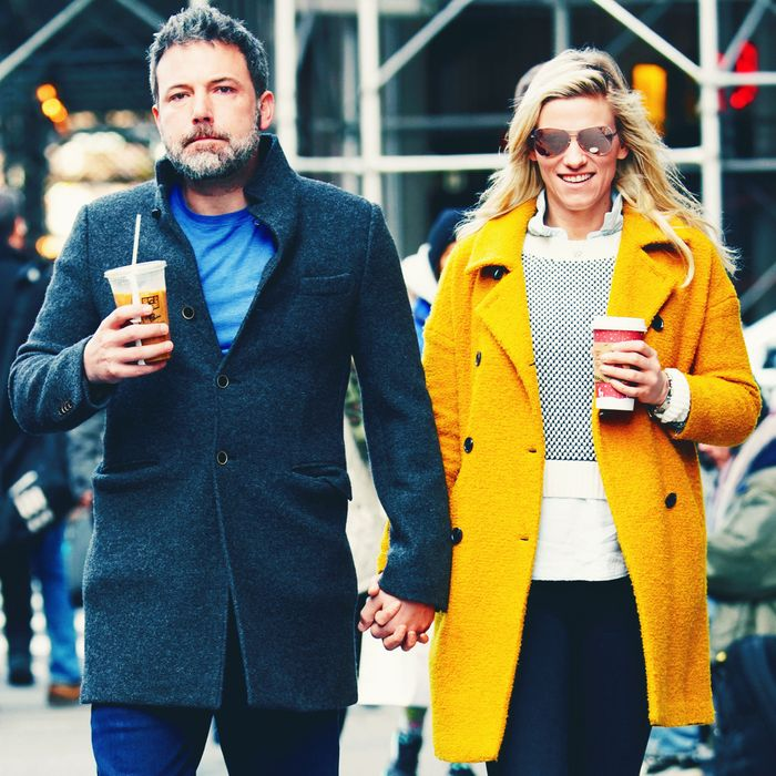 Ben Affleck and Lindsay Shookus, once upon a time.