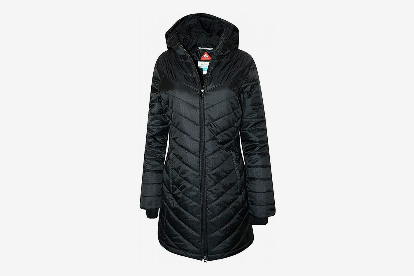 d93aaaade9e Columbia Women's Morning Light II Omni Heat Long Puffer