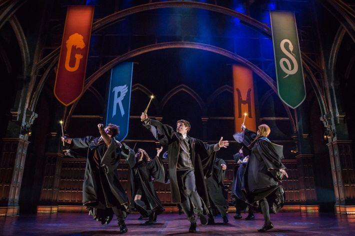 Theater Review Harry Potter And The Broadway Spectacle