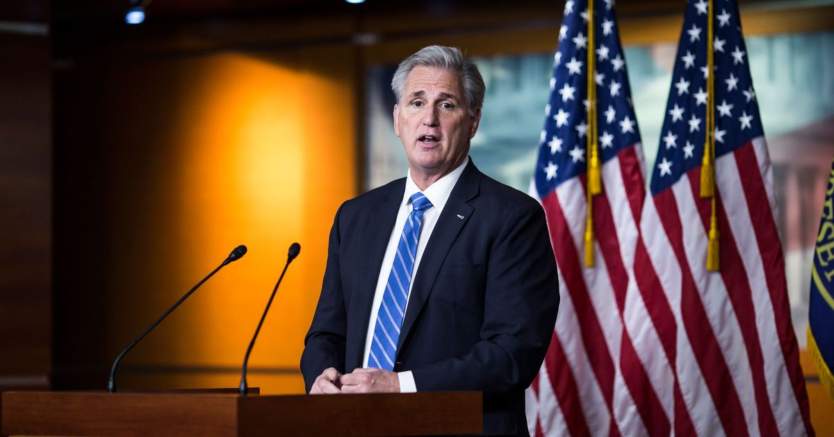 McCarthy's Bogus Conspiracy Theory About Midterm Election Theft Becoming Republican Holy Writ