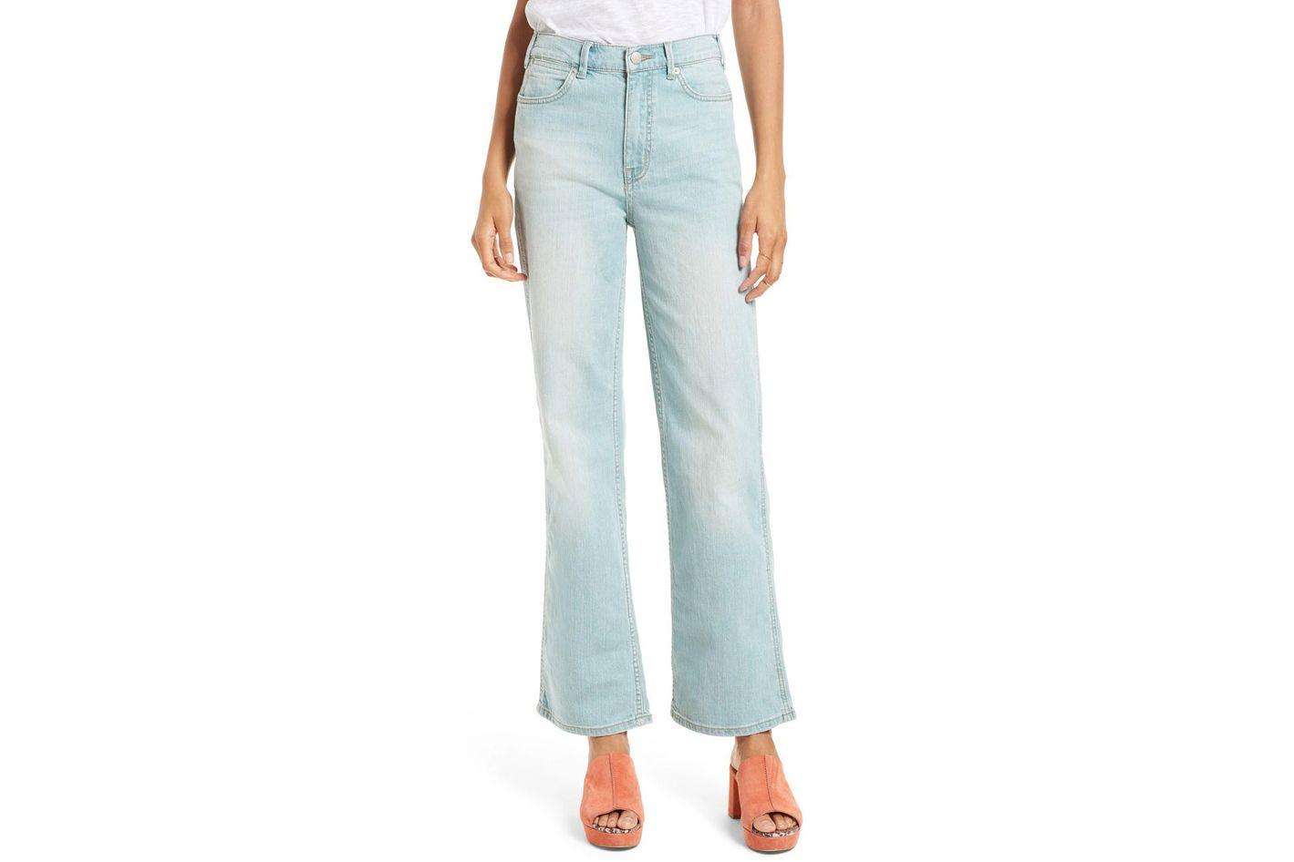 Free People High Waist Flare Leg Jeans