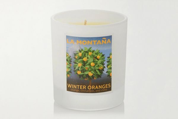 La Montaña Winter Oranges Scented Candle