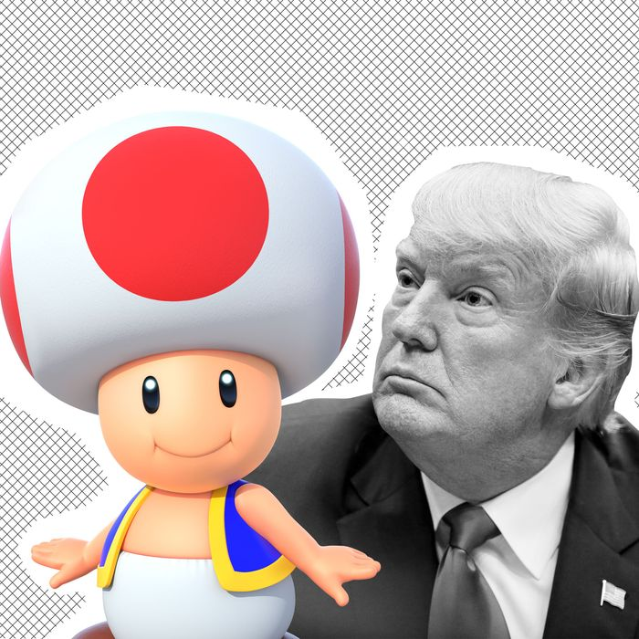 Stormy Daniels Donald Trump S Penis Is Toad From Mario Kart