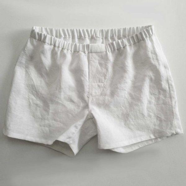 Linoto 100% Linen Boxer Shorts