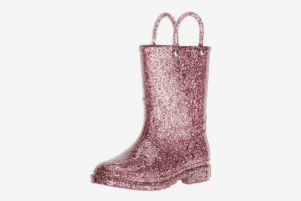 Western Chief Kids' Glitter Waterproof Rain Boot