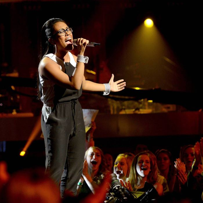 Malaya Watson performs on AMERICAN IDOL XIII airing Wednesday, March 12
