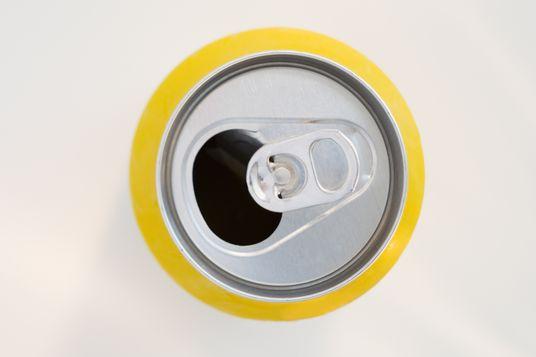 Open soda can