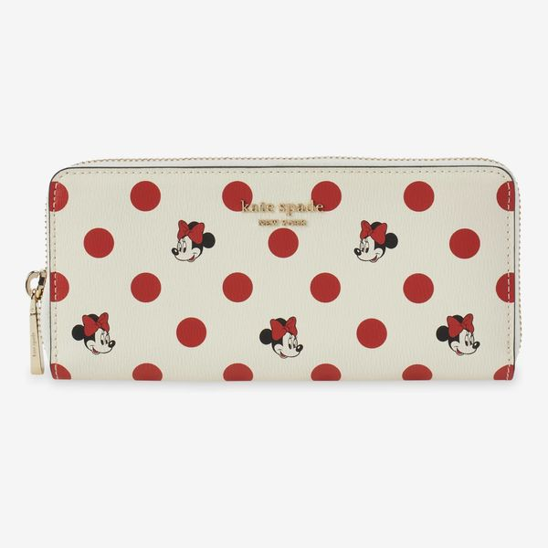 Minnie Mouse Polka-Dot Wallet by Kate Spade New York