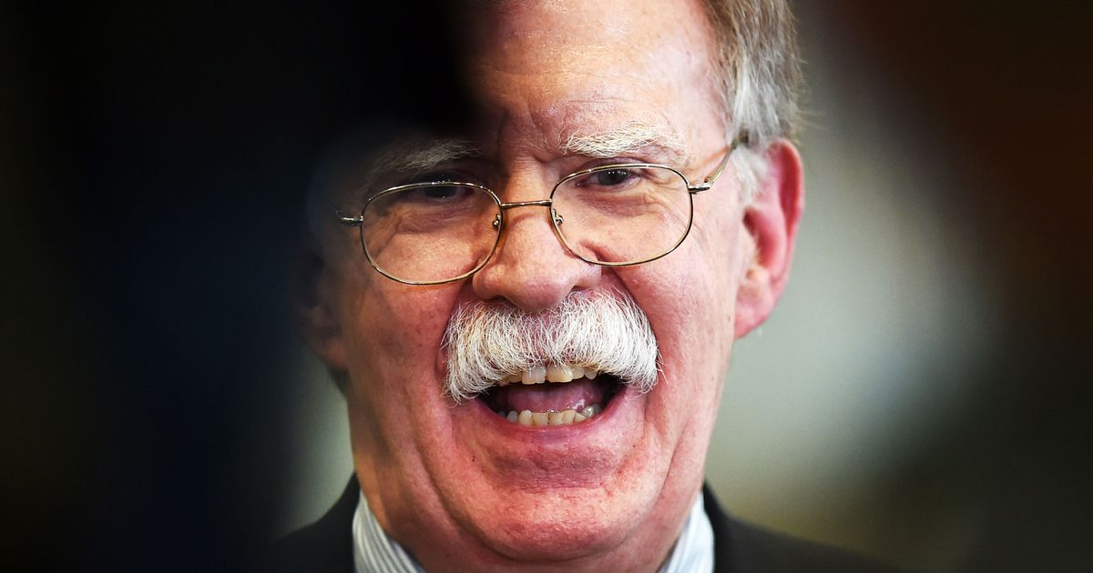 John Bolton Goes Down With the Ship