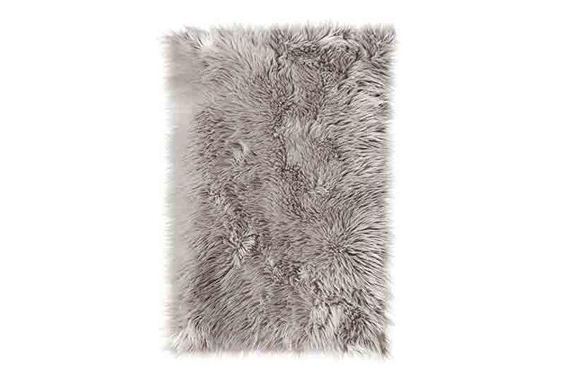 SLPR High Pile Rectangular Faux Sheepskin Rug