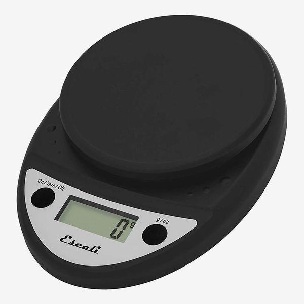 Escali Primo P115CH Precision Kitchen Food Scale, Black