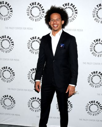16 Oct 2012, Beverly Hills, California, USA --- 16 October 2012 - Beverly Hills, California - Eric Andre. An Evening With Don't Trust the B---- in Apartment 23 held at the Paley Center. Photo Credit: Byron Purvis/AdMedia --- Image by ? Byron Purvis/AdMedia/Corbis