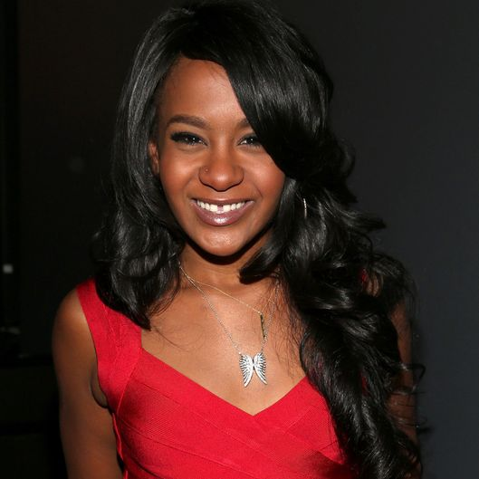 "LOS ANGELES, CA - OCTOBER 11:  Bobbi Kristina Brown attends ""We Will Always Love You: A GRAMMY Salute to Whitney Houston"" at Nokia Theatre L.A. Live on October 11, 2012 in Los Angeles, California.  (Photo by Christopher Polk/WireImage)"
