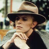 David Bowie in Nicolas Roeg's THE MAN WHO FELL TO EARTH (1976). Courtesy Rialto Pictures/Studio Canal. Playing 6/24-7/7
