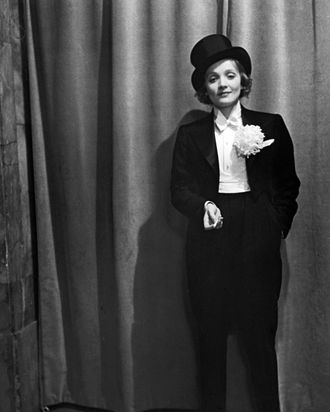da752814100 Today People Will Bid on Marlene Dietrich's Iconic Tuxedo