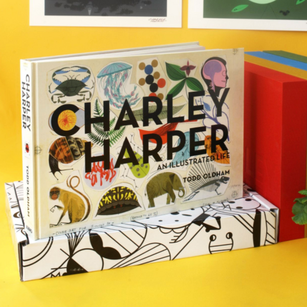 Signed, Unopened Copy of Todd Oldham's Out-of-Print Book Charley Harper: An Illustrated Life