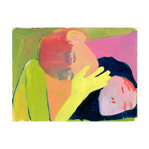 "Two Heads by Kimia Ferdowsi Kline, 18"" x 24"""