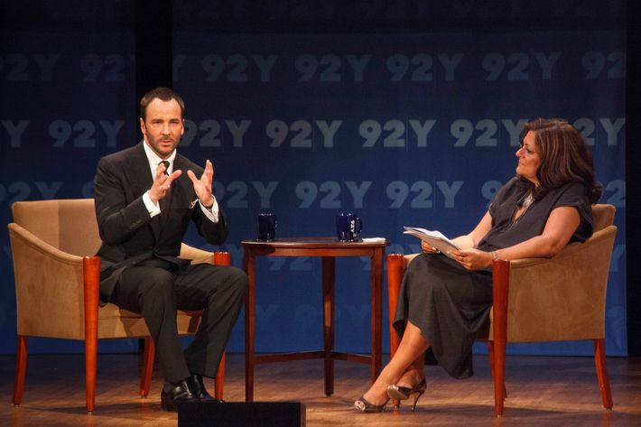 Tom Ford and Fern Mallis.