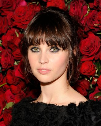 NEW YORK, NY - NOVEMBER 15: Felicity Jones attends the Museum of Modern Art's 4th Annual Film benefit
