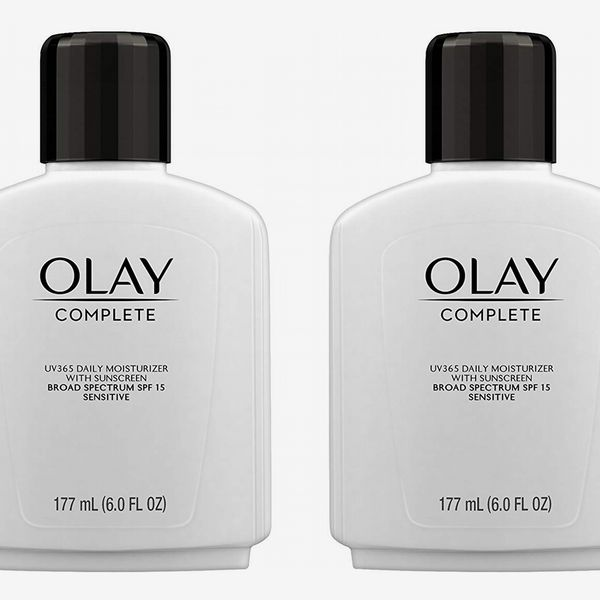 Face Moisturizer by Olay Complete Lotion All Day Moisturizer with SPF 15 for Sensitive Skin