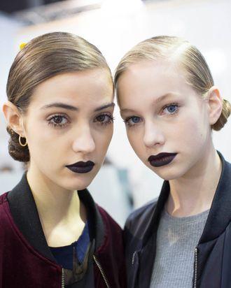 Daring, dark, Dior Fall 2016.