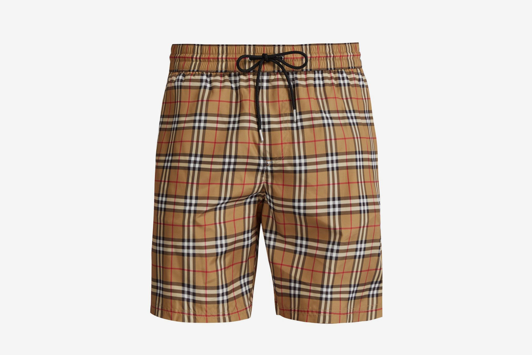 c7c76bf047f60 Burberry Vintage-check Swim Shorts at Matches Fashion