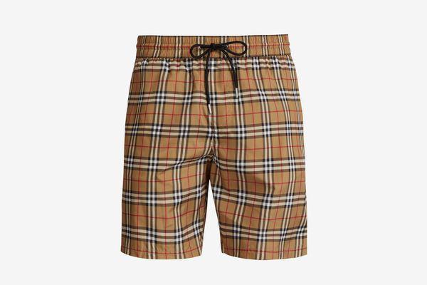 Burberry Vintage-check Swim Shorts