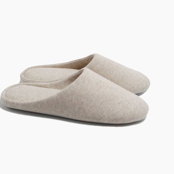 ofoot Women's Indoor Slippers Memory Foam Washable Cotton Non-Slip Home Shoes