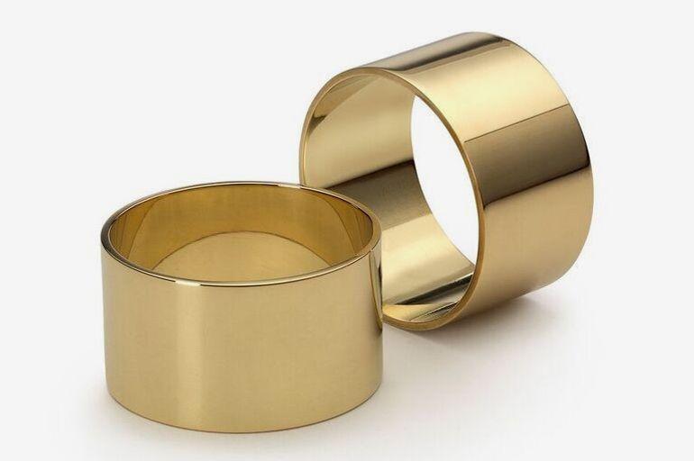 Skultuna Brass Napkin Rings